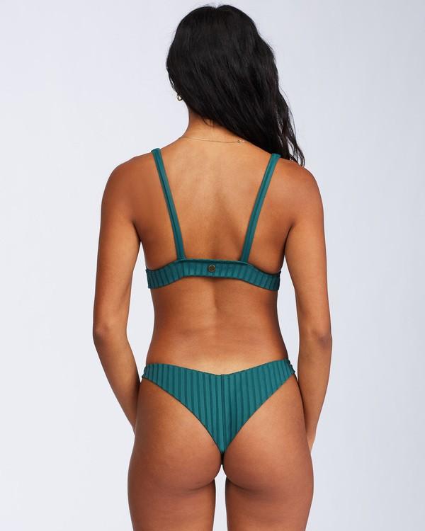 0 Sunny Rib Tanga Bikini Bottom Green ABJX400120 Billabong