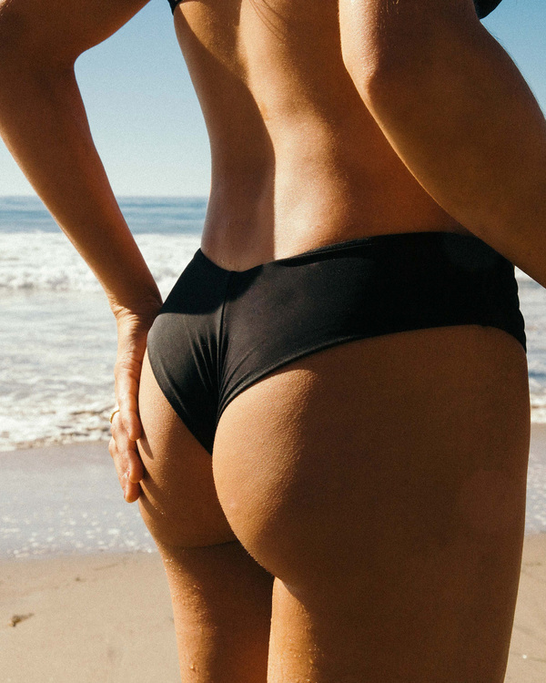 0 Sol Searcher Fiji Bikini Bottom Black ABJX400134 Billabong