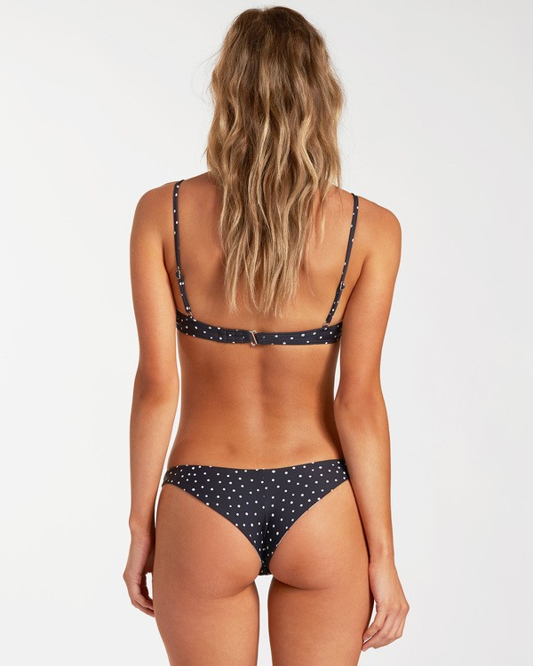 0 Beyond The Palms Tanga Reversible Bikini Bottom Grey ABJX400148 Billabong