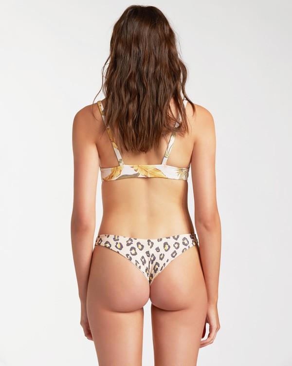 0 Sweet Sands Tanga Reversible Bikini Bottom Grey ABJX400178 Billabong