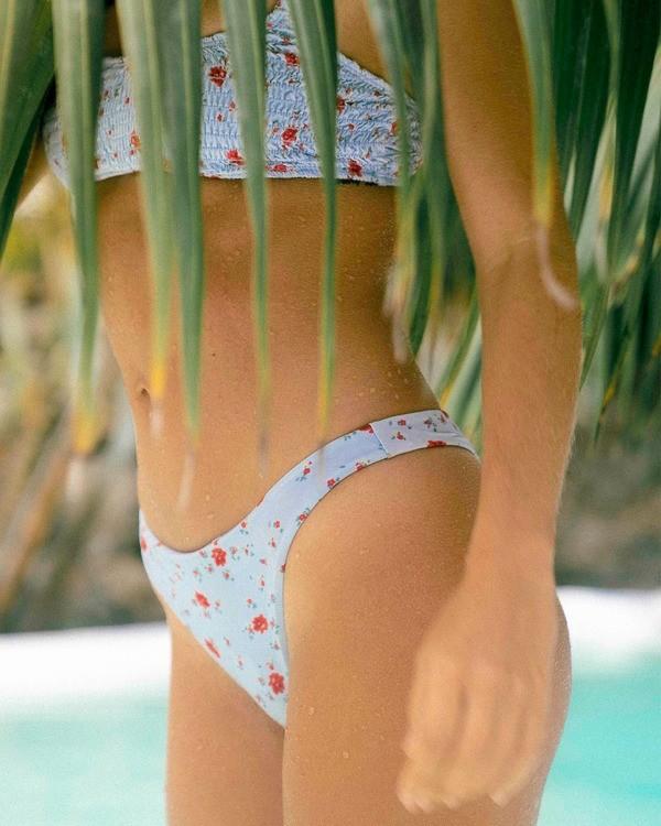 0 On The Path Maya Bikini Bottom White ABJX400185 Billabong