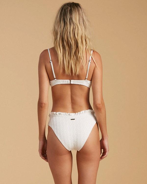 0 Salty Blonde By The Seashore Bondi Bikini Bottom White ABJX400201 Billabong