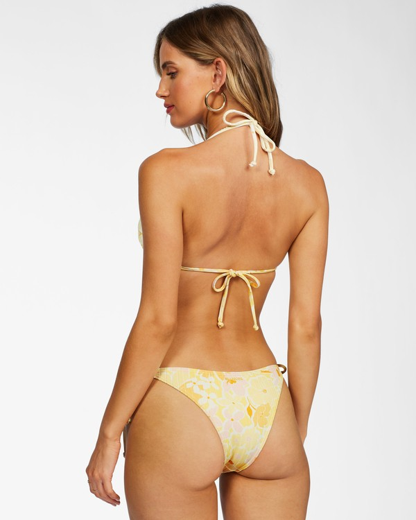 0 Make You Mine Hike Bikini Bottom Yellow ABJX400238 Billabong