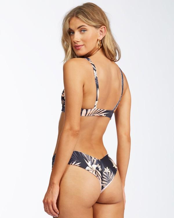 0 Safari Nights Reversible Fiji Bikini Bottom Black ABJX400312 Billabong