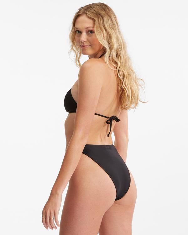 0 Sol Searcher Havana Skimpy Bikini Bottom Black ABJX400397 Billabong