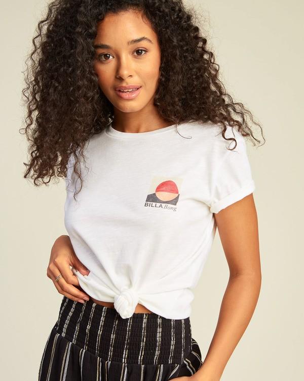 0 Love And Surf T-Shirt White ABJZT00133 Billabong