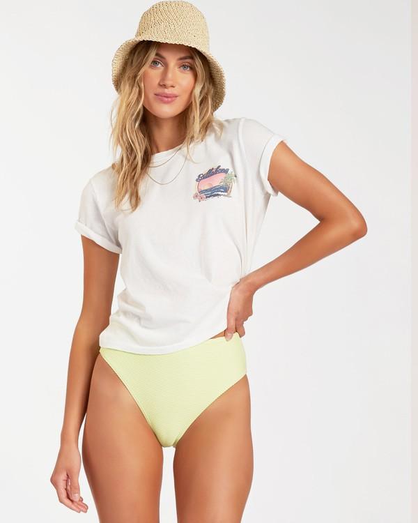 0 California Dreaming Short Sleeve T-Shirt White ABJZT00148 Billabong