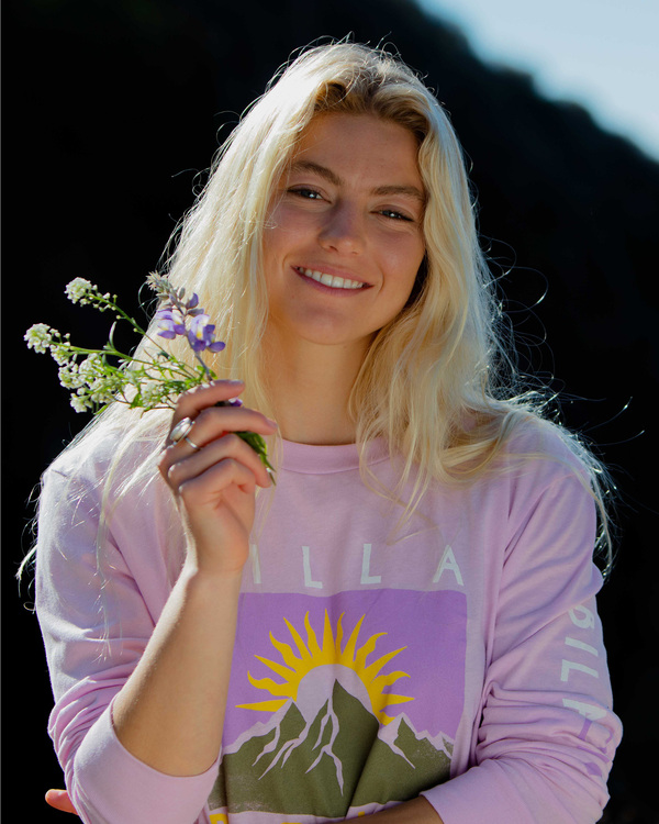 0 A/Div Long Sleeve T-Shirt Purple ABJZT00199 Billabong