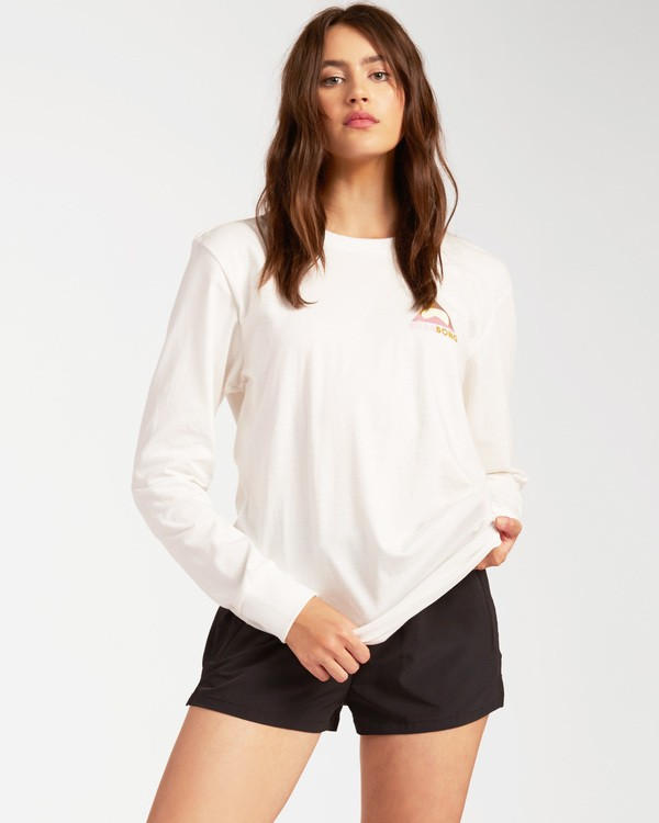 0 A/Div Long Sleeve T-Shirt White ABJZT00199 Billabong