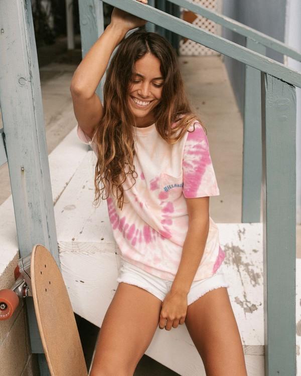 0 Salty Waves Tie-Dye T-Shirt Multicolor ABJZT00203 Billabong