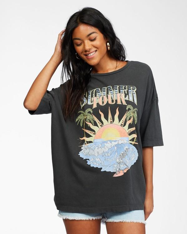 0 Summer Tour T-Shirt Black ABJZT00239 Billabong