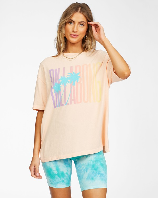 0 Local Favorite T-Shirt Grey ABJZT00241 Billabong