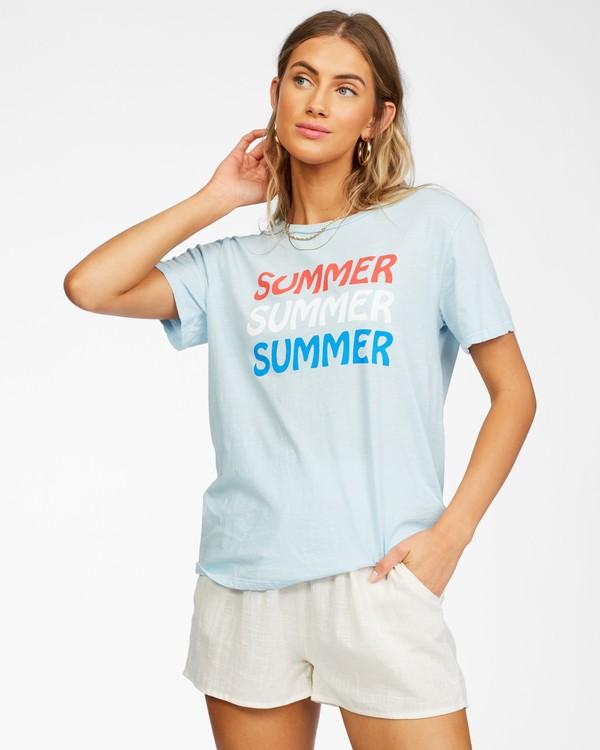 0 Summer Forever T-Shirt Purple ABJZT00269 Billabong