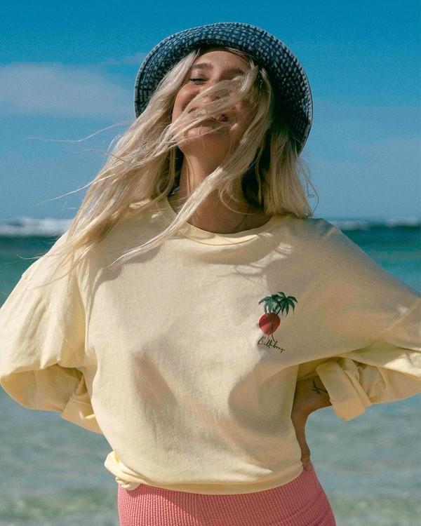 0 Surfer Girl Long Sleeve T-Shirt Orange ABJZT00367 Billabong