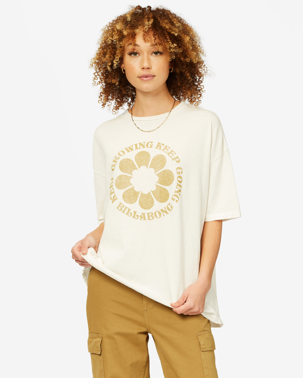 0 Be Kind Boyfriend T-Shirt White ABJZT00461 Billabong