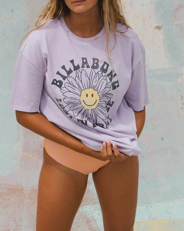 0 Sunny Day T-Shirt Purple ABJZT00500 Billabong
