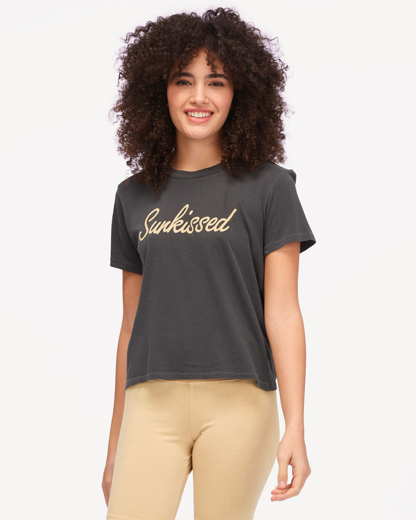 0 Sunkissed T-Shirt Black ABJZT00603 Billabong