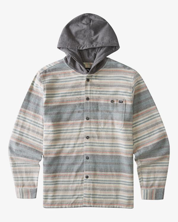 0 Boys' (2-7) Baja Flannel Shirt Orange ABTWT00106 Billabong