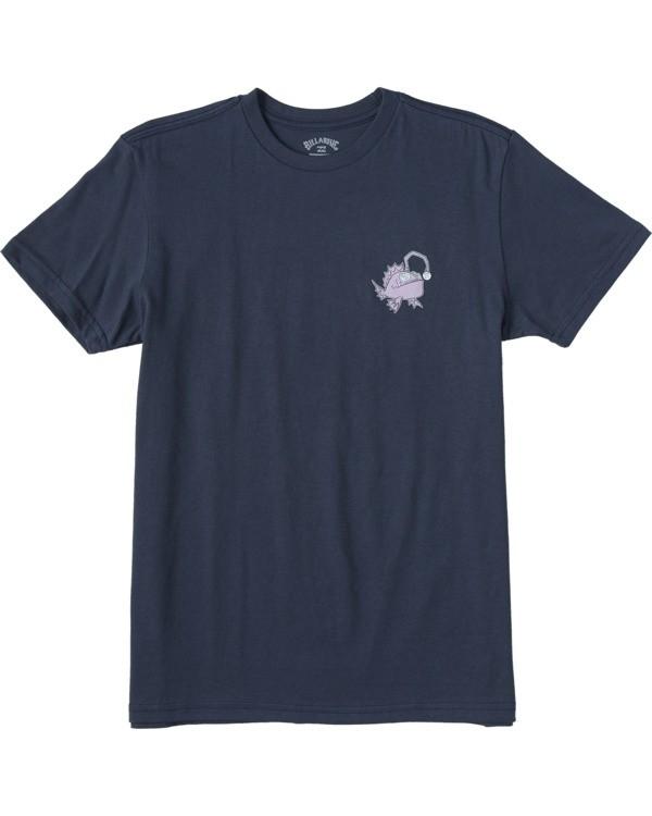 0 Boys' (2-7) Angler Short Sleeve T-Shirt Blue ABTZT00101 Billabong