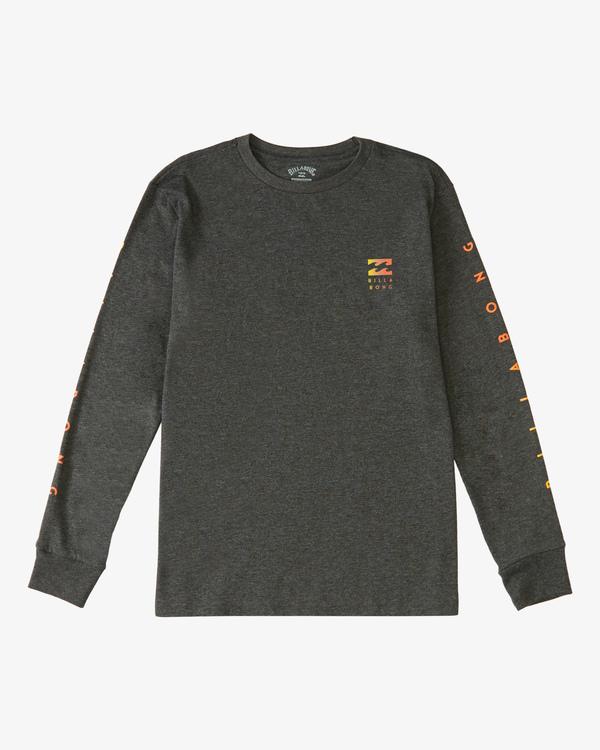 0 Boy's (2-7) Unity Long Sleeve T-Shirt Black ABTZT00124 Billabong