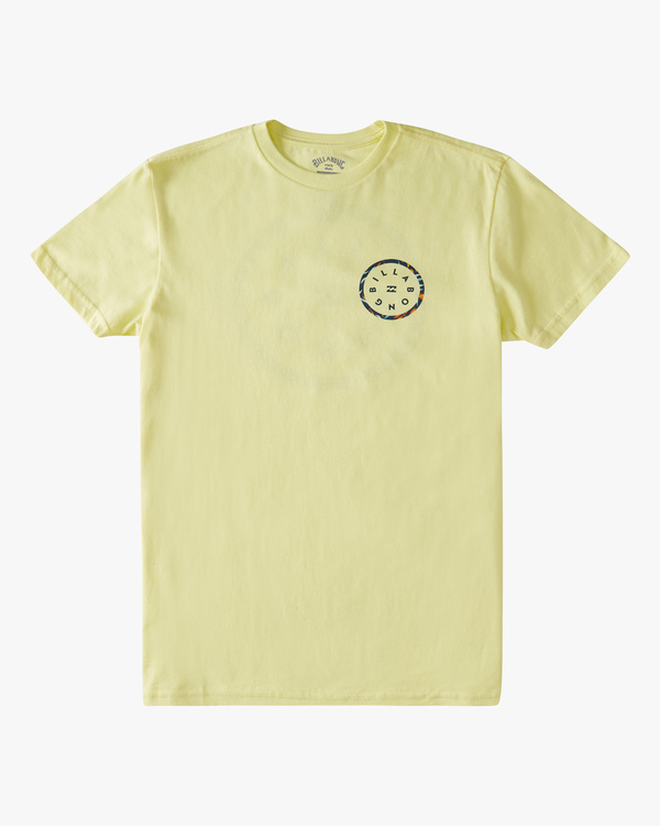 0 Boys' (2-7) Rotor Short Sleeve T-Shirt Yellow ABTZT00146 Billabong