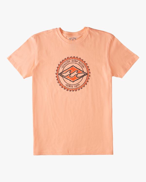 0 Boys' (2-7) Diamond Wave Short Sleeve T-Shirt Black ABTZT00151 Billabong