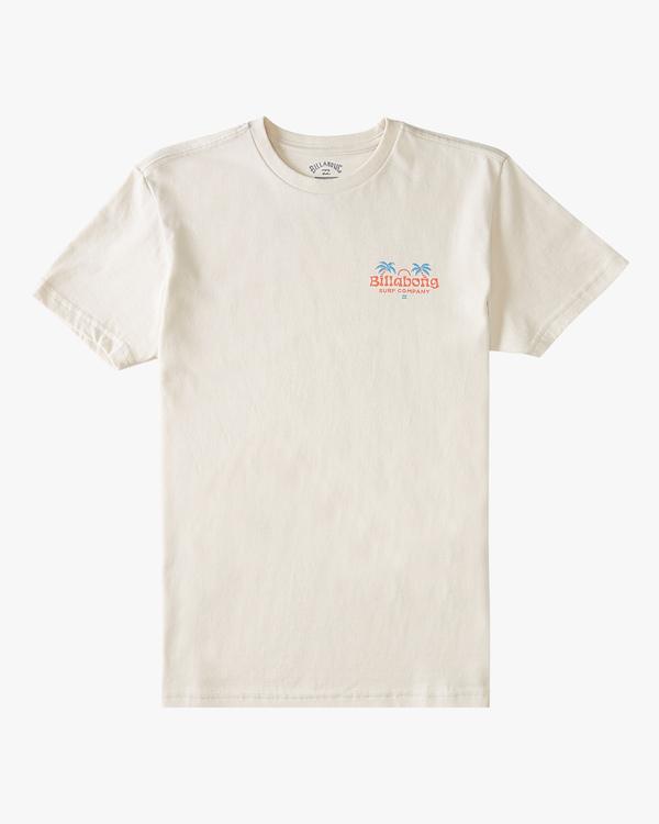0 Boys' (2-7) Dos Palmas Short Sleeve T-Shirt Brown ABTZT00152 Billabong