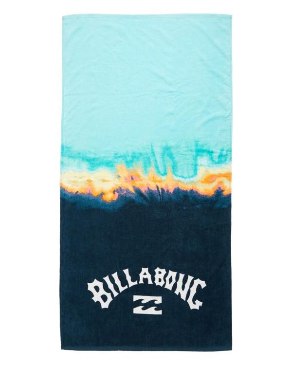 0 Waves Beach Towel Grey ABYAA00108 Billabong