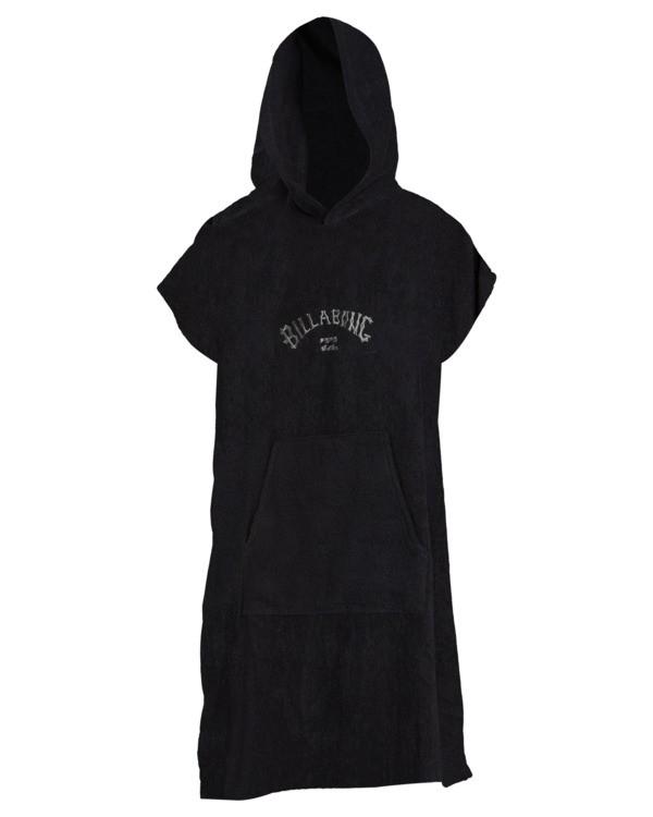 0 Men's Hoodie Towel Black ABYAA00117 Billabong