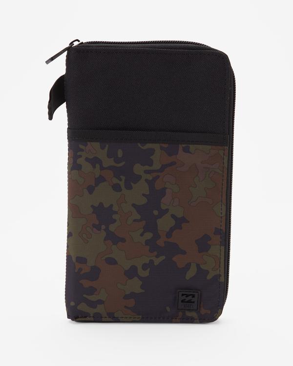 0 A/Div Utility Passport Wallet Black ABYAA00127 Billabong