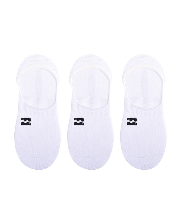 0 Core No-Show Socks White ABYAA00169 Billabong