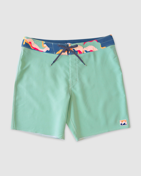 """0 All Day Pigment Pro Boardshorts 17"""" Green ABYBS00110 Billabong"""