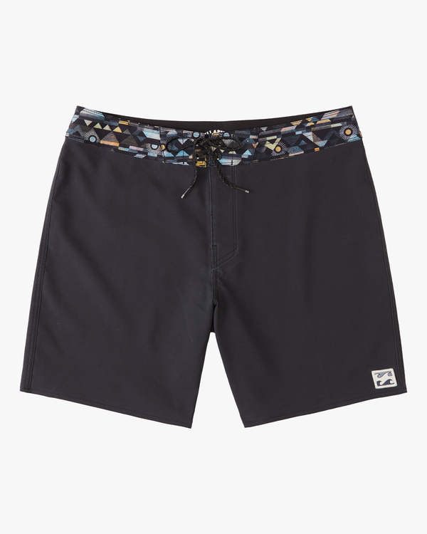 """0 All Day Pigment Pro Boardshorts 17"""" Blue ABYBS00110 Billabong"""