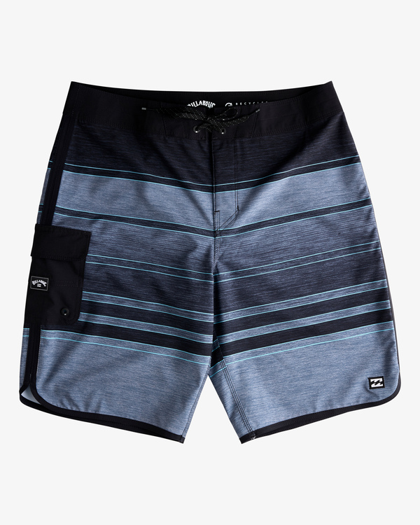 "0 73 Stripe Pro Boardshorts 20"" Black ABYBS00115 Billabong"