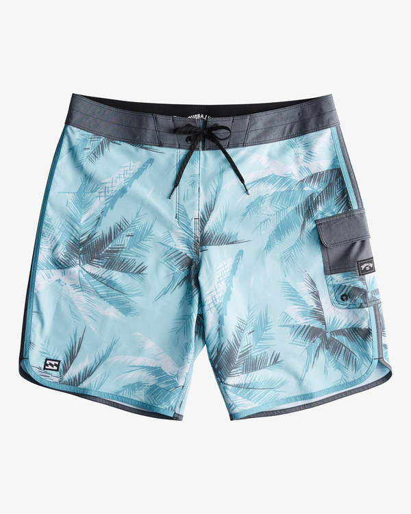 "0 73 Line Up Pro Boardshorts 19"" Blue ABYBS00116 Billabong"