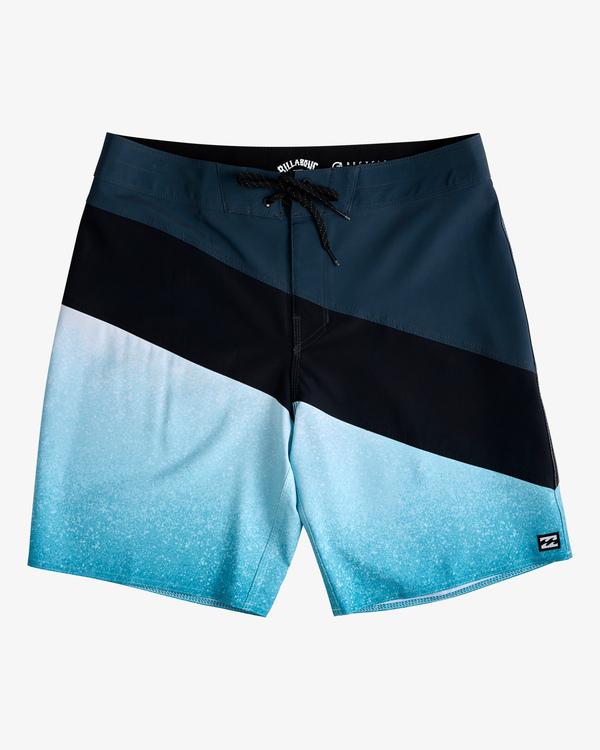"0 T Street Pro Boardshorts 19"" Blue ABYBS00117 Billabong"