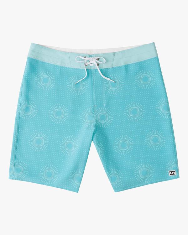 "0 Sundays Mini Pro Boardshorts 19"" Blue ABYBS00121 Billabong"