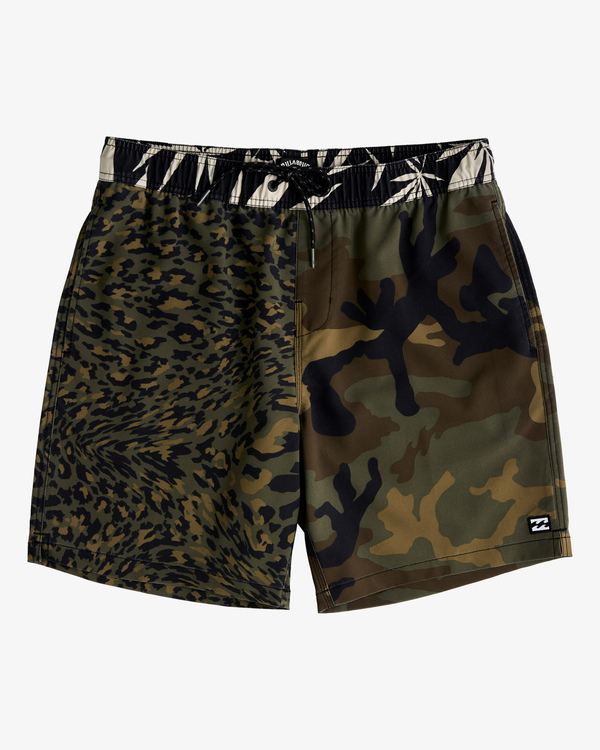 "0 Sundays Layback Boardshorts 17"" Black ABYBS00123 Billabong"