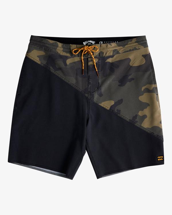 "0 T Street Lo Tides Boardshorts 18"" Black ABYBS00125 Billabong"