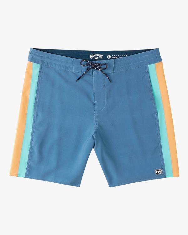 "0 D Bah Lo Tides Boardshorts 17"" Multicolor ABYBS00126 Billabong"