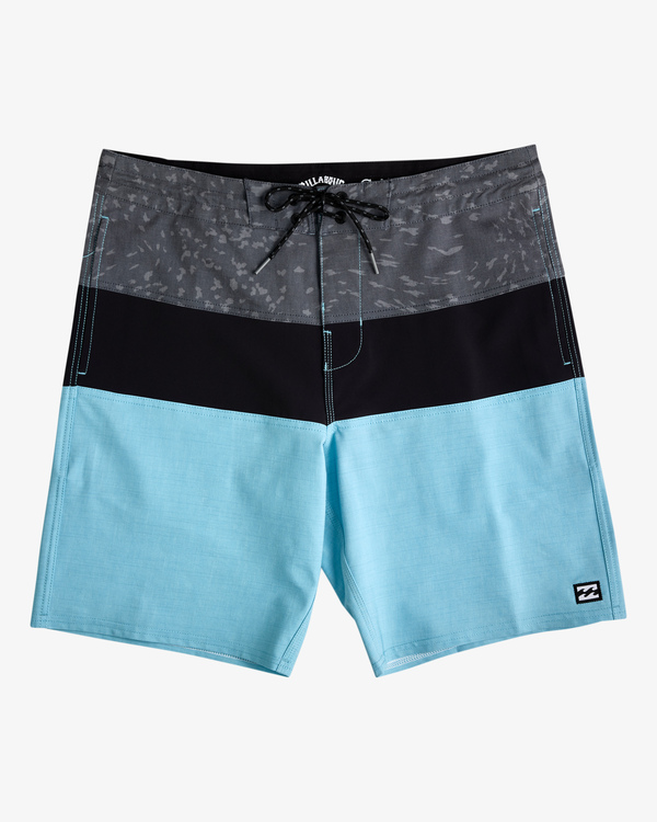 "0 Tribong Lo Tide Boardshorts 19"" Blue ABYBS00127 Billabong"