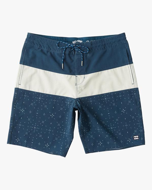 "0 Tribong Lo Tide Boardshorts 19"" Blue ABYBS00127 Billabong"