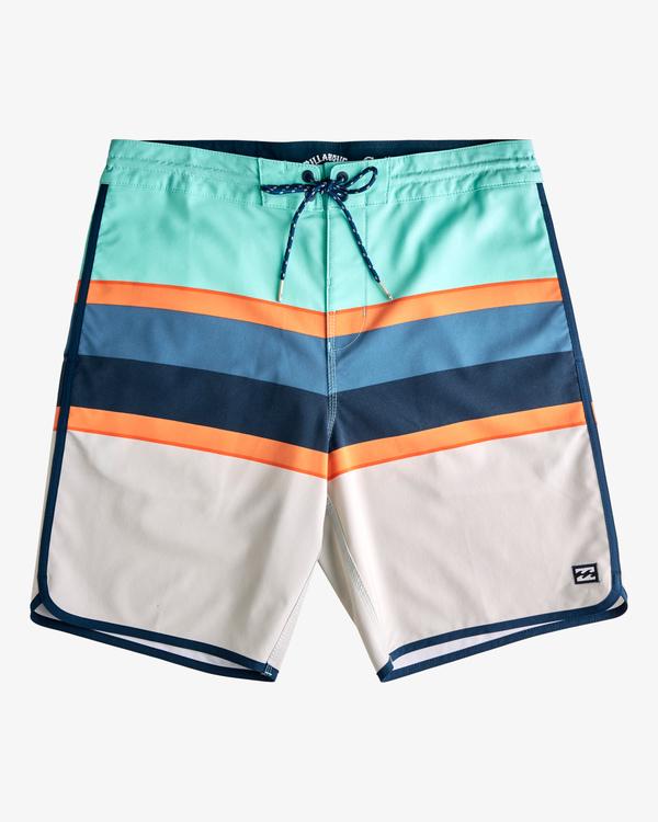 "0 73 Spinner Lo Tides Boardshorts 19"" Grey ABYBS00129 Billabong"