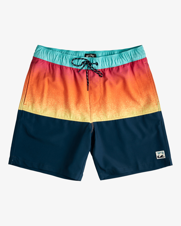 """0 Fifty50 Layback Boardshorts 17"""" Red ABYBS00132 Billabong"""