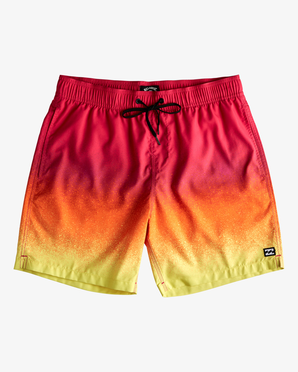 """0 All Day Fade Layback Boardshorts 17"""" Red ABYBS00133 Billabong"""