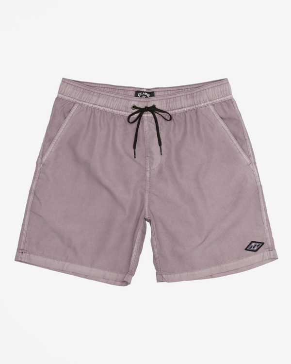 """0 All Day Overdyed Layback Boardshorts 17"""" Purple ABYBS00134 Billabong"""