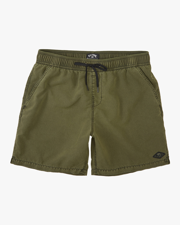 "0 All Day Overdyed Layback Boardshort 17"" Green ABYBS00134 Billabong"