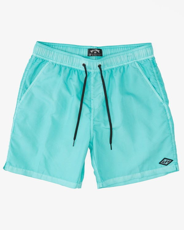 """0 All Day Overdyed Layback Boardshorts 17"""" Grey ABYBS00134 Billabong"""