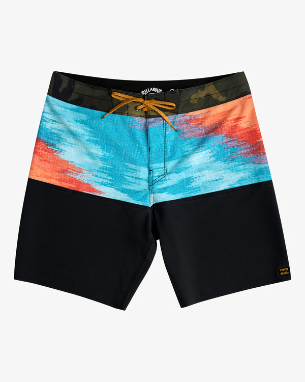 """0 Fifty50 Panel Pro Boardshorts 19"""" Red ABYBS00136 Billabong"""