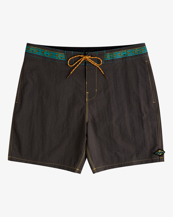 "0 Currents Lo Tide Boardshorts 17"" Black ABYBS00139 Billabong"